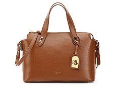 Lauren Ralph Lauren Newbury Emily Leather Satchel