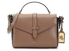 Lauren Ralph Lauren Winston Raquel Leather Crossbody Bag