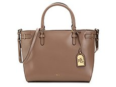 Lauren Ralph Lauren Winston Niki Leather Satchel