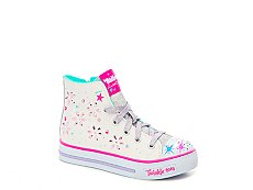 Skechers Twinkle Toes Sparkly N Sweet Girls Toddler & Youth High-Top Sneaker
