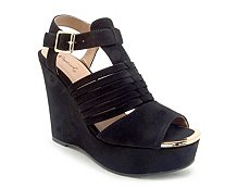Qupid Kelsey-58 Wedge Sandal