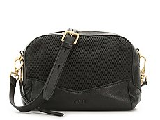 Rian Diamond Leather Crossbody Bag