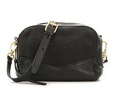 Rian Diamond Leather Crossbody Bag