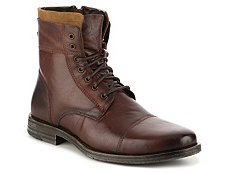 Kenneth Cole Reaction Steer The Wheel Cap Toe Boot