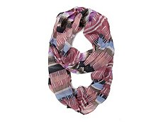 Cejon Accessories Lined Stripes Infinity Scarf