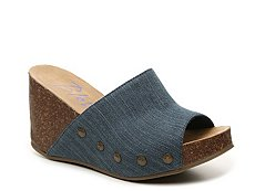 Blowfish Host Wedge Sandal