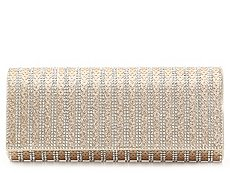 Lulu Townsend Stripe Jewel Clutch