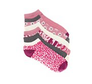 Jessica Simpson Mixed Patterns Womens No Show Socks - 6 Pack