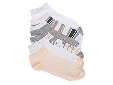 Jessica Simpson Paisley Womens No Show Socks - 6 Pack