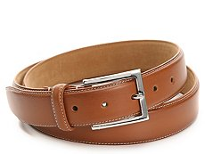 Cole Haan Contrast Stitch Leather Belt