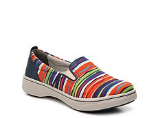 Dansko Belle Striped Slip-On Sneaker