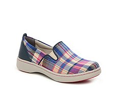 Dansko Belle Plaid Slip-On Sneaker