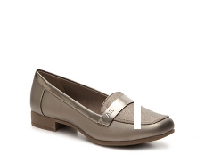 AK Anne Klein Vittorio Metallic Loafer