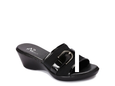 A2 by Aerosoles Eyes On You Patent Wedge Sandal