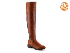 Journee Collection Plica Over The Knee Boot
