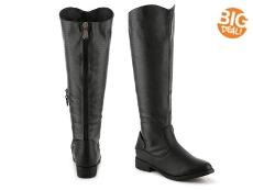 Journee Collection Sleek Riding Boot