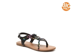 Mia Raven Girls Toddler & Youth Flat Sandal