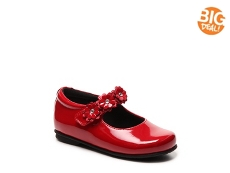 Rachel Lyla Girls Toddler Mary Jane Flat