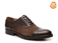 Aston Grey Blake Cap Toe Oxford