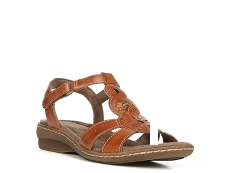 Natural Soul Barroll Wedge Sandal