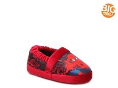 Marvel Spiderman Boys Toddler Slipper