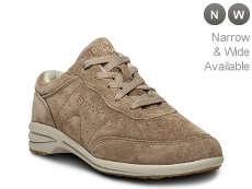 Propet Wasable Walker Suede Walking Shoe - Womens