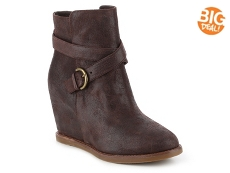 Johnston & Murphy Brynn Jodphur Wedge Bootie