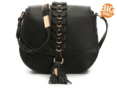 Foley + Corinna La Trenza Leather Crossbody Bag