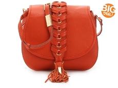 Foley + Corinna La Trenza Leather Crossbody Bag