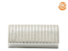 Lulu Townsend Crystal Stripe Clutch