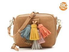 Violet Ray Tassel Crossbody Bag