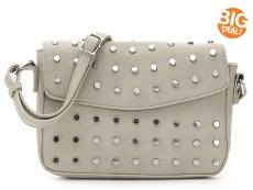 Madison West Studded Flap Crossbody Bag