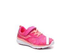 Saucony Velocity Girls Toddler & Youth Running Shoe