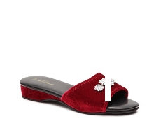 Daniel Green Marta Velvet Slide Slipper