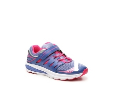 Saucony Zealot 2 Girls Toddler & Youth Running Shoe