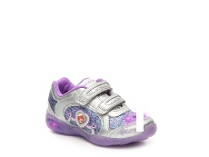 DIsney Little Mermaid Girls Toddler Under The Sea Light-Up Sneaker