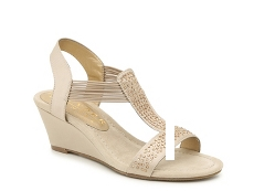 New York Transit Great Right Wedge Sandal