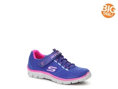 Skechers Empire Rock Around Girls Toddler & Youth Running Shoe