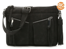 Violet Ray Raven Tassel Crossbody Bag