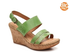 Born Amabel Wedge Sandal