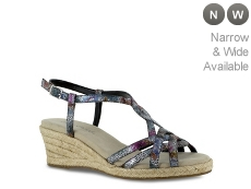 Easy Street Ryanne Wedge Sandal