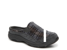 Easy Spirit Travel Time Plaid Clog