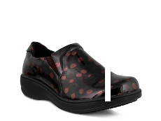 Spring Step Belo Polka Dot Work Clog