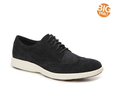 Cole Haan Grand Tour Suede Wingtip Oxford