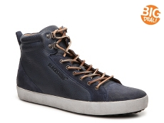Blackstone Suede Cap Toe High-Top Sneaker