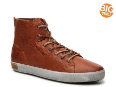 Blackstone Leather High-Top Sneaker