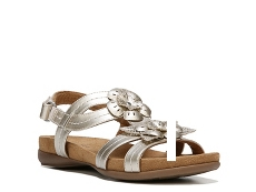 Natural Soul Avril Flat Sandal