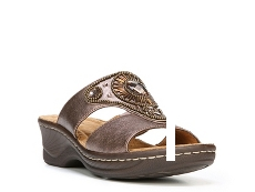 Natural Soul Saturn Wedge Sandal