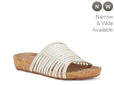 Walking Cradles Piece Wedge Sandal