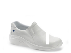 Nurse Mates Dove Slip-On Work Sneaker